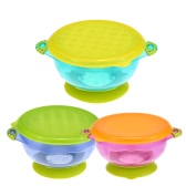 Colorful Baby Stay-put Suction Bowl Infant Spill-proof Sucker Bowl Set BPA Free
