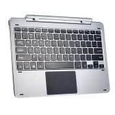 Original Chuwi Hi-keyboard 12inch Ultra-slim Multimodal Rotary Shaft Keyboard Tablet PC Stand Dual USB Ports for Chuwi Hi12 Tablet PC