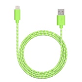 [Apple MFi Certified] Yellowknife 3.3ft/1.0m Portable Tough Nylon Braided Colorized 8pin Lightning USB Charging Data Cable Charge Sync Cord for iPhone 6S Plus 6S 6 5S 5 iPad mini mini2 mini3 iPad Air iPad Air 2 iPod touch (5Generation) iPod nano