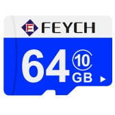 FEYCH 64G Class 10 Micro TF Flash Memory Card Fast Write / Read for Samsung Galaxy Note 5 S6 S6 edge Xiaomi Huawei HTC Smartphone PC Tablet Camera MP3 MP4 High Efficiency