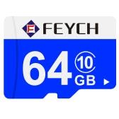 FEYCH 64 G クラス 10 マイクロ TF フラッシュ メモリ カード高速書き込み/読み取りサムスンのギャラクシー ノートの 5 S6 S6 エッジ Xiaomi huawei 社 HTC スマート フォン PC タブレット カメラ MP3 MP4 高効率