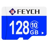FEYCH 128G Class 10 Micro TF Flash Memory Card Fast Write / Read for Samsung Galaxy Note 5 S6 S6 edge Xiaomi Huawei HTC Smartphone PC Tablet Camera MP3 MP4 High Efficiency