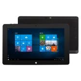 Jumper EZpad 4SE Tablet PC 10.6inch IPS Multi-points Capacitive Screen 1366*768pixel 64Bit Intel Quad-core Processor Win 10 + Android Dual Operation System 32GB eMMC 2GB Memory 2.0MP Dual Cameras 6600mAh Battery