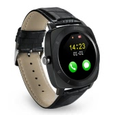 Iradish X3 Smart Watch 2G GSM Bluetooth Phone MTK6261D 1.33inch Screen Single Core 32MB RAM 130W Camera 350mAh Battery Sleep Monitor Health Pedometer Sleep Monitor Sedentary Remind for iPhone Samsung Xiaomi iOS Android Smartphones