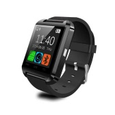Bluetooth Smart Watch WristWatch U8 Watch for iPhone 4/4S/5/5S Samsung S4/Note 2/Note 3 HTC Android Phone Smartphones Anti-lost Alarm Function Touch Screen Sync SMS Call Music & Camera Remote Control  Black
