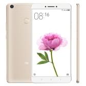 Original Xiaomi Max 4G Smartphone 6.44inch Big Screen Display 1920*1080P Snapdragon 650 Hexa Core 1.8GHz CPU 2GB RAM 16GB ROM 16.0MP Camera 4850mAh Large Battery Dual SIM Card Fingerprint ID Mobile Phone