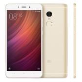 "Xiaomi Redmi Note 4 Smartphone 4G-LTE MTK Helio X20 2.1GHz 64-bit Deca Core 5.5"" 2.5D FHD 1920*1080 2G+16G 5MP 13MP Dual Cameras Fingerprint Metal Body Ultrathin 4100mAh"
