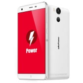 "Ulefone Power 4G FDD-LTE 3G WCDMA Smartphone Android 5.1 Lollipop OS 64bit MTK6753 Octa Core 5.5"" FHD Screen 3GB RAM 16GB ROM 5MP 13MP Dual Cameras OTG Hotknot Miracast Gestures to Wake Up Smart Power Saving Mode Fingerprint Touch ID Quick Charge"