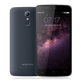 HOMTOM HT17スマートフォン4G FDD-LTE、3G WCDMAアンドロイド6.0マシュマロOSクアッドコアMTK6737 5.5」スクリーン1ギガバイトのRAM 8ギガバイトROM 5MP 13メガピクセルのデュアルカメラスマートジェスチャーウェイクジェスチャー省電力モード指紋クイックチャージ