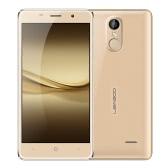 LEAGOO M5 Smartphone 3G WCDMA MTK6580A 2.5D 5.0 Inches HD 1280 * 720 Pixels Android 6.0 2G+16G 5MP+8MP Dual Cameras Metal Frame Fingerprint Unlock