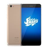 Vernee Mars Side-Mounted Fingerprint Smartphone 4G FDD-LTE 3G WCDMA MTK6755 Helio P10 64-bit Octa Core 5.5 Inches FHD 1920 * 1080 Pixels In-cell Screen Android 6.0 4GB RAM+32GB ROM 5MP+13MP Dual Cameras 1080P Video OTG Type C Dual-band WiFi
