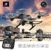 JXD 509W 6-Axis Gyro Wifi FPV RC Quadcopter with 0.3MP Camera High Hold CF Mode One Key Return Drone MobilePhone Control Toy