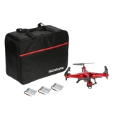Syma X5C 2.4GHz 4CH 6-Axis Remote Control RC Quadcopter 2.0MP HD Camera Drone with GoolRC Nylon Handbag & Two Extra Batteries
