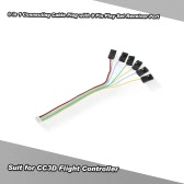 6 in 1 Connecting Cable Plug with 8 Pin Play Set Receiver Port for CC3D Flight Controller