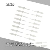 8Pairs Original DHD D1 CW/CCW Propeller for DHD D1 Cheerson CX-Stars RC Quadcopter