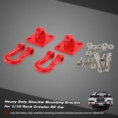 1 Set Heavy Duty Shackle Mounting Bracket for 1/10 RC4WD D90 SCX10 Rock Crawler RC Car