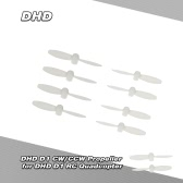 4Pairs Original DHD D1 CW/CCW Propeller for DHD D1 Cheerson CX-Stars RC Quadcopter