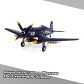 Original Unique F4U-4 1200mm Wingspan Drone EPO Fixed-wing Aircraft PNP Version RC Airplane(with ESC, Motor, Servo)