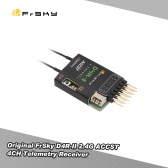Original FrSky D4R-II 2.4G 4CH Telemetry Receiver with CPPM Output Data Port for FrSky Taranis X9D Plus