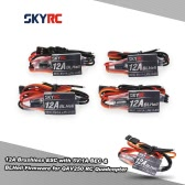 4Pcs Original SKYRC 12A Brushless ESC Electronic Speed Controller with 5V/1A BEC & BLHeli Firmware for QAV250 RC Quadcopter