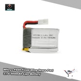 Original Wltoys RC Aircraft Spare Part F949 3.7V 500mAh Battery for Wltoys F949 Fixed Wing RC Aircraft