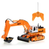 HUI NA TOYS NO.1310 40MHz 11CH Engineering Electric Excavator Heavy Machinery RC Toy Car Truck