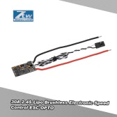 Original ZTW Flash 30A ESC 2-4S BLHELI-S OPTO Brushless Speed Controller for QAV250 Racer 250 ZMR250 F330 F450 FPV Racing Quadcopter