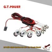 G.T.POWER L8 LED Light System for RC Car Truck Model