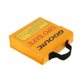 GoolRC 15.5 * 15.5 * 5cm High Golden Quality Glass Fiber RC LiPo Battery Safety Bag Safe Guard Charge Sack