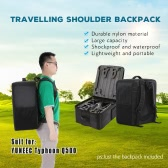 Special Customize Nylon Shoulder Backpack Easy Carry Case For YUNEEC Typhoon 4K Q500 RC Quadcopter