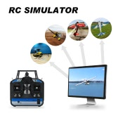 8 Channels RC Helicopter Airplane Flight Simulator Transmitter for RC Beginner