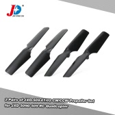 2 Pairs Original JXD-509-01/02 CW/CCW Propeller Set for JXD 509G 509 RC Quadcopter