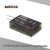 Original RadioLink R10DS 2.4GHz 10CH DSSS & FHSS Receiver for RadioLink AT9 AT9S AT10 AT10II Transmitter Support SBUS PWM