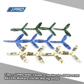 12pcs Original JJRC JJPRO 5050 3-blade Propeller with Camouflage Pattern for JJPRO-P200 Quadcopter GoolRC 210 QAV250 Runner 250 RC FPV Racing Drone