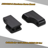 2Pcs AX80028-5 Aluminum Servo Mount RC Car Accessories for 1:10 AXIAL SCX10 RC Car