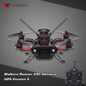 Original Walkera Runner 250 Advance GPS Version 5 FPV Drone with DEVO 7 and 800TVL Camera/OSD/GPS RC Quadcopter