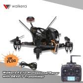 Original Walkera F210 Professional Racer 700TVL Camera 5.8G FPV RTF RC Quadcopter with DEVO 7 Transmitter