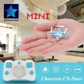 Original Cheerson CX-Stars Mini 2.4G 4CH 6 Axis Gyro RC Quadcopter UFO Drone with 3D Flips Headless Mode