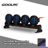 Original GoolRC AX-506W Multi-function Ultra Bright LED Lamp Light for 1/8 1/10 HSP Traxxas TAMIYA CC01 4WD Axial SCX10 Monster Truck Short Course RC Car