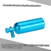 Decorative Aluminum Alloy Fire Extinguisher RC Rock Crawler Accessory for 1/10 SCX10 D90 D110 CC01