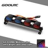 Original GoolRC AX-505BL Multi-function Ultra Bright LED Lamp Light  for 1/8 1/10 HSP Traxxas TAMIYA CC01 4WD Axial SCX10 Monster Truck Short Course RC Car