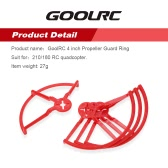 4Pcs GoolRC 4 inch Propeller Guard Ring Set for 210/180 Racing Drone