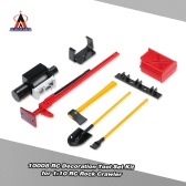 6Pcs AUSTAR 10008 RC Decoration Tool Set Kit RC Accessories for 1:10 RC Rock Crawler