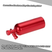 Decorative Aluminum Alloy Fire Extinguisher RC Rock Crawler Accessory for 1/10 SCX10 D90 D110 CC01