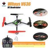 WLtoys Skylark V636 Headless 6 Axis RC Quadcopter VS Traxxas ALIAS