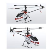 WLtoys V911 4CH 2.4GHz Mini Radio Single Propeller RC Helicopter Gyro RTF Red & White