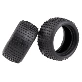 Yikong Parts 18058 Rubber Tire and Firm for 1/18 Truggy and Off-Road RC Model Cars