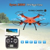 Original Syma X5SW/X5SW-1 4CH 2.4G 6-axis Gyro RC Wifi FPV Quadcopter with 0.3MP Camera