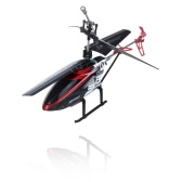 "7.5"" Mini 3.5 CH Channel Ultralight Infrared RC Helicopter With Gyro Colorful Light Kids Toy Gift Red"