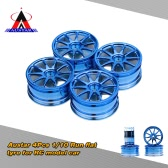 4Pcs/Set 1/10 Run-flat Car Tire Hub for Traxxas HSP Tamiya HPI Kyosho On-Road Run-flat Model Car